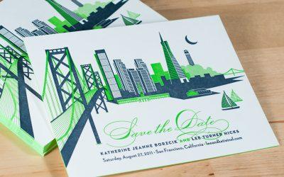 Signature Collection: San Francisco Skyline Invitations