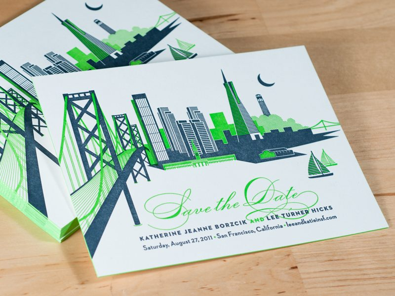 Signature Collection: San Francisco Skyline Invitations