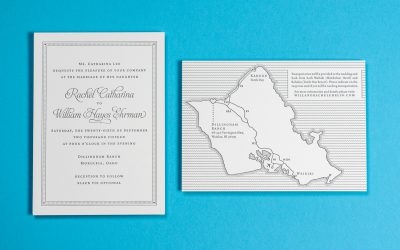 Rachel & Will's Oahu Wedding Featured in The Knot!